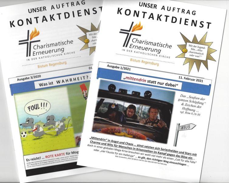 Kontaktdienstbroschüre CE Regensburg