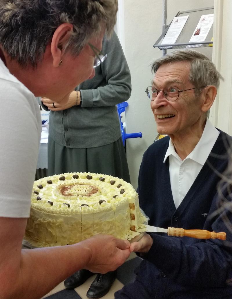 Pater Helmut 80-Geburtstag