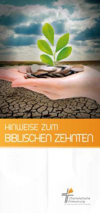 Faltblatt: Hinweise zum biblischen Zehnten