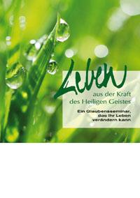 Plakat: Leben aus der Kraft des Heiligen Geistes