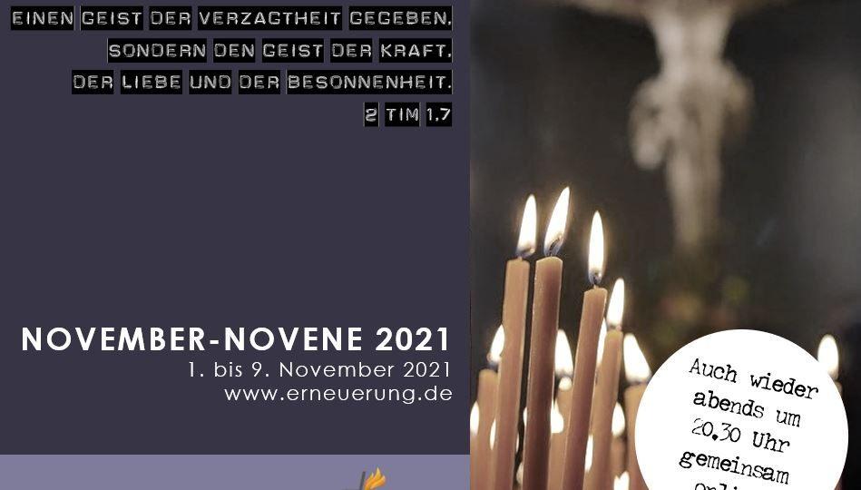 Novene 2021_Nov Werbung